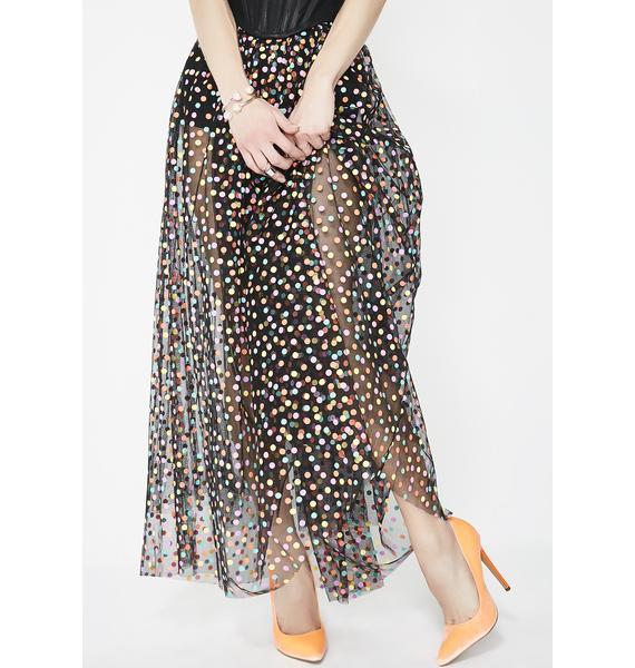 Party Princess Maxi Skirt