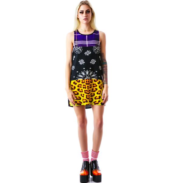 Evil Twin In the Mix Woven Tank Shift Dress