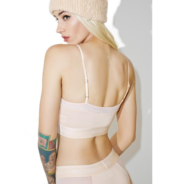 Wildfox Couture Peachy Soft Longline Bralette
