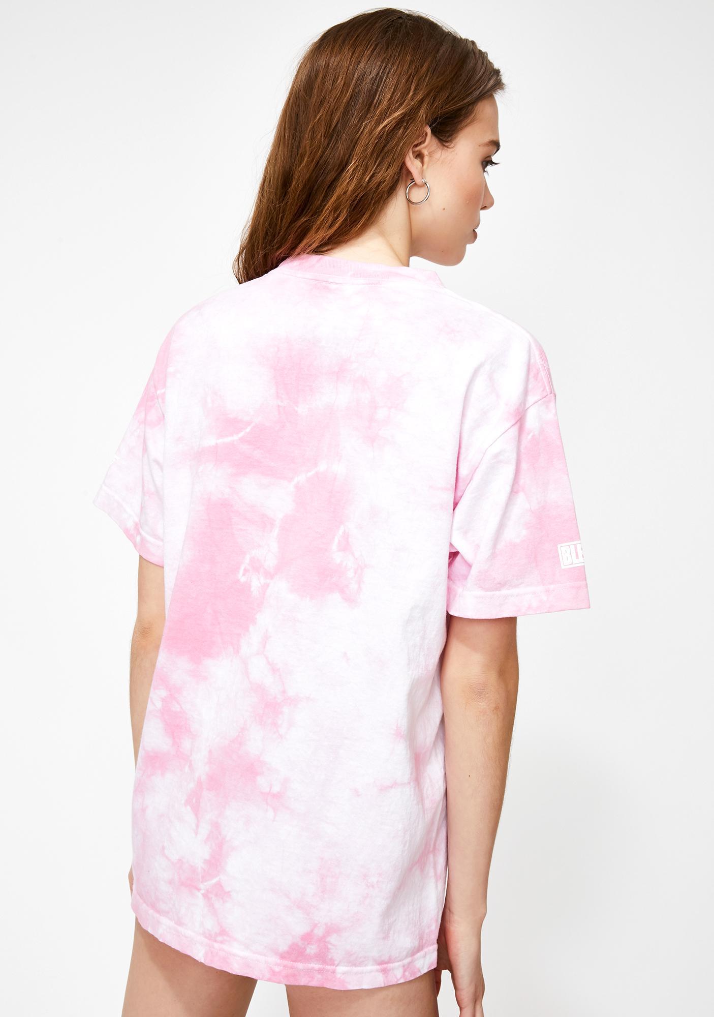 HYPLAND X Bleach Nel Tie Dye Graphic Tee