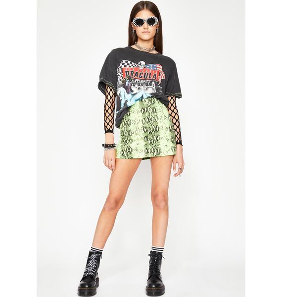 Lethal Lookz Snake Skirt