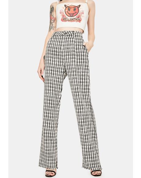 Boucle Pants
