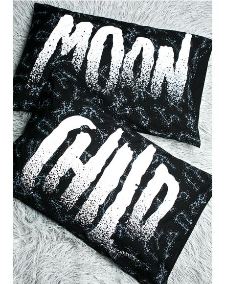 Moon Child Pillow Cases
