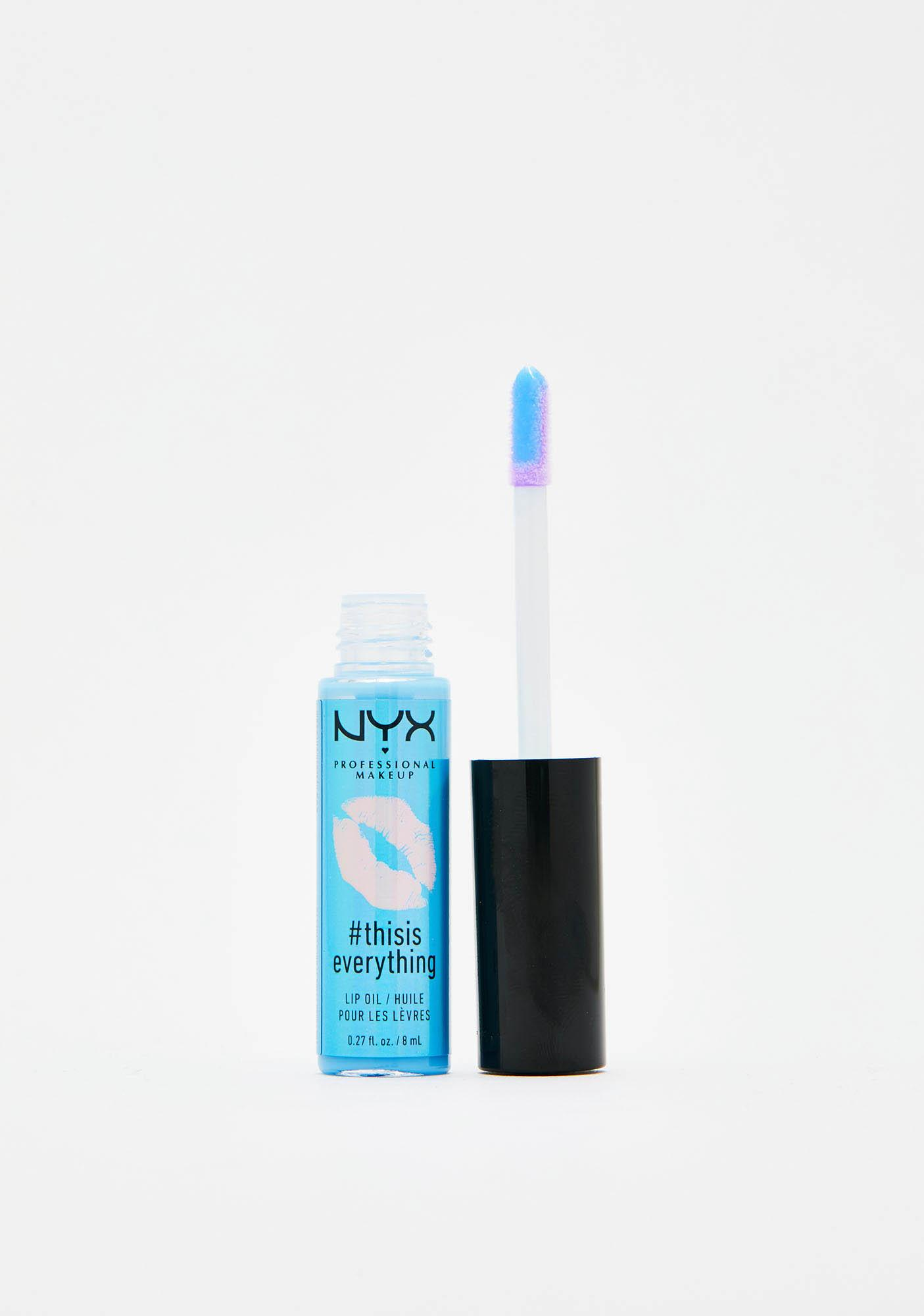 NYX Professional Makeup Sheer Blue Sky Thisiseverything Lip Oil
