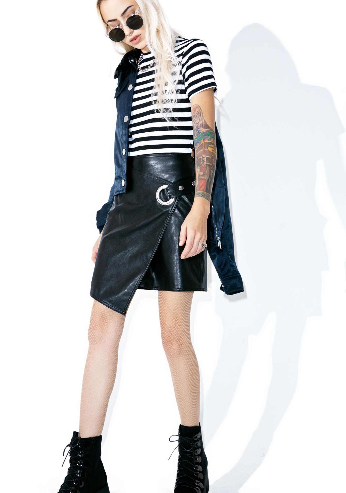 Cheap Monday Striped Row Top