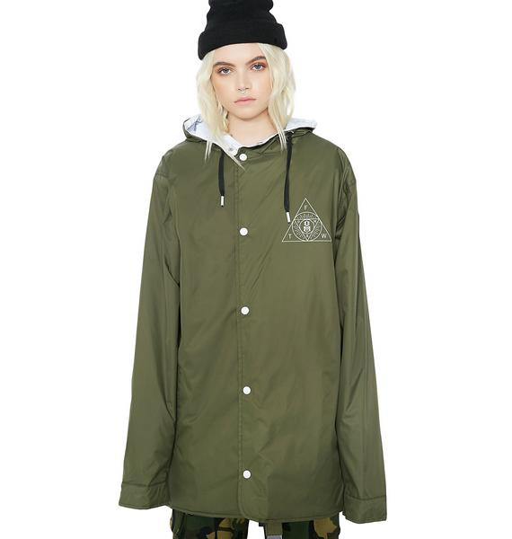 Rebel8 Sect Hooded Parka