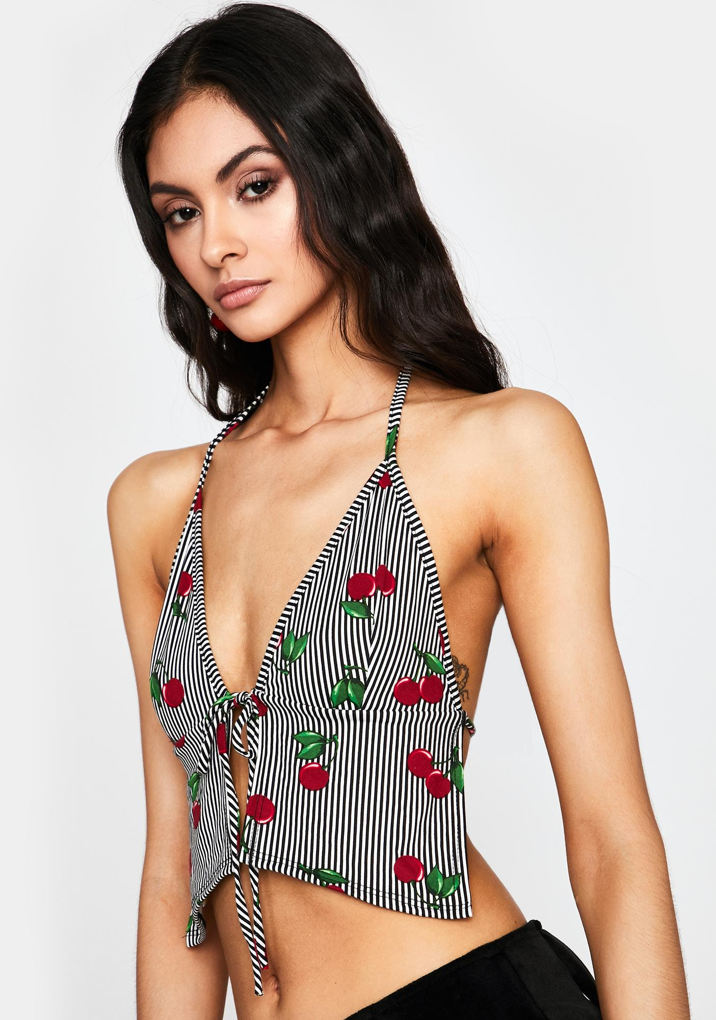 Tart Thoughts Halter Top