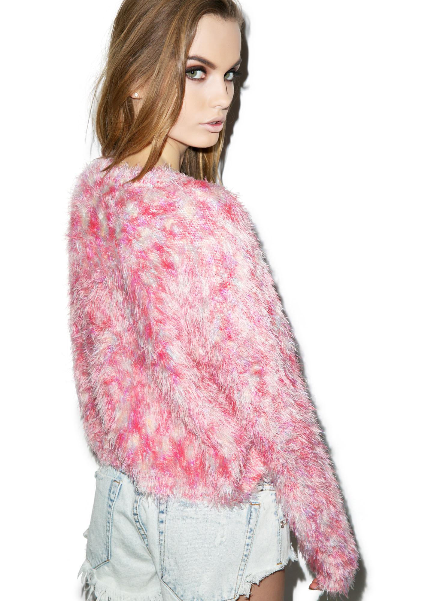 Mink Pink Fairy Floss Jumper