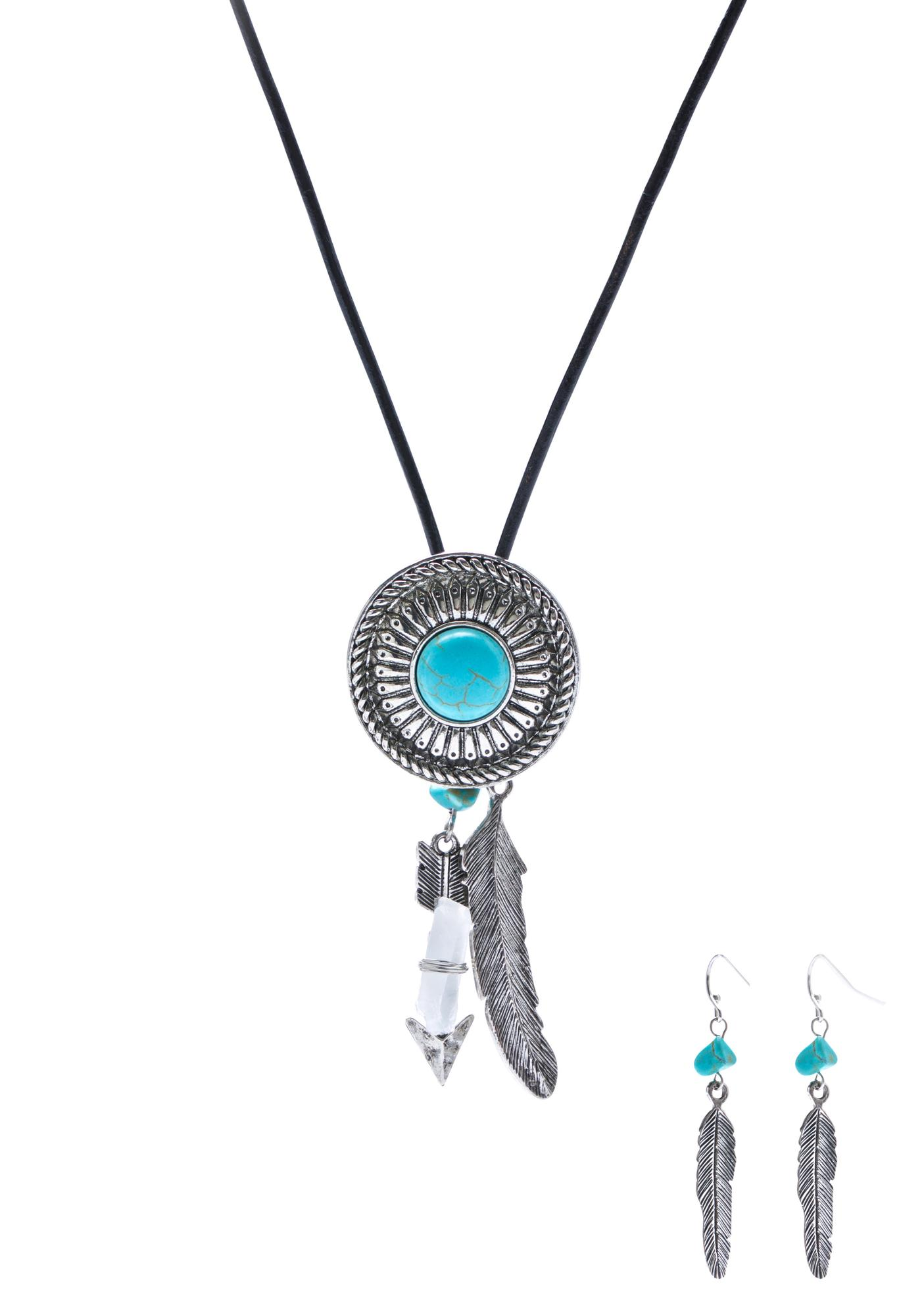 Bohemia Occasion Necklace & Earring Set
