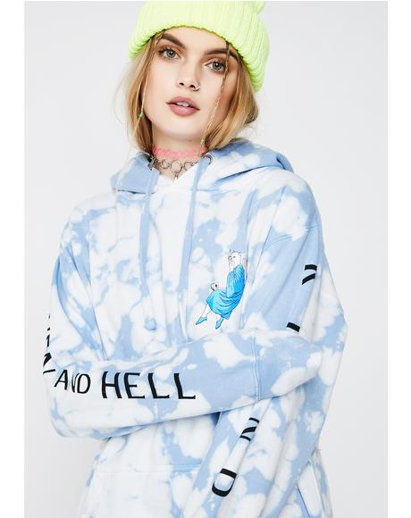 Heaven And Hell Pullover Hoodie