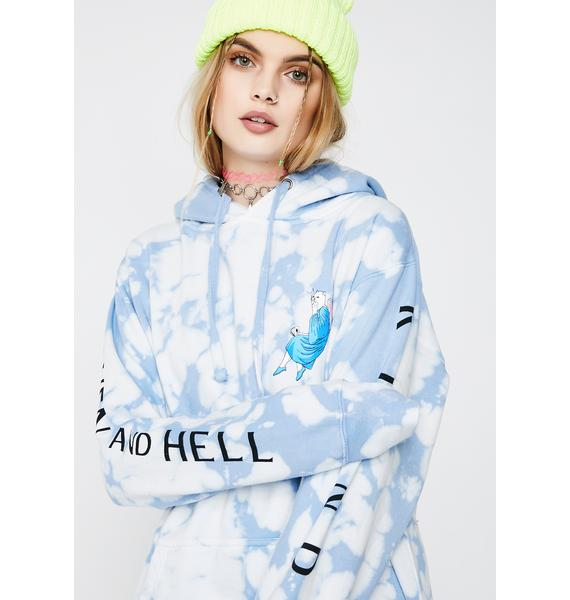 RIPNDIP Heaven And Hell Pullover Hoodie