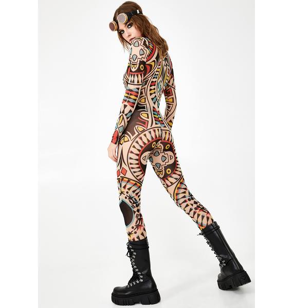 Kiki Riki Astral Artifact Sheer Bodysuit