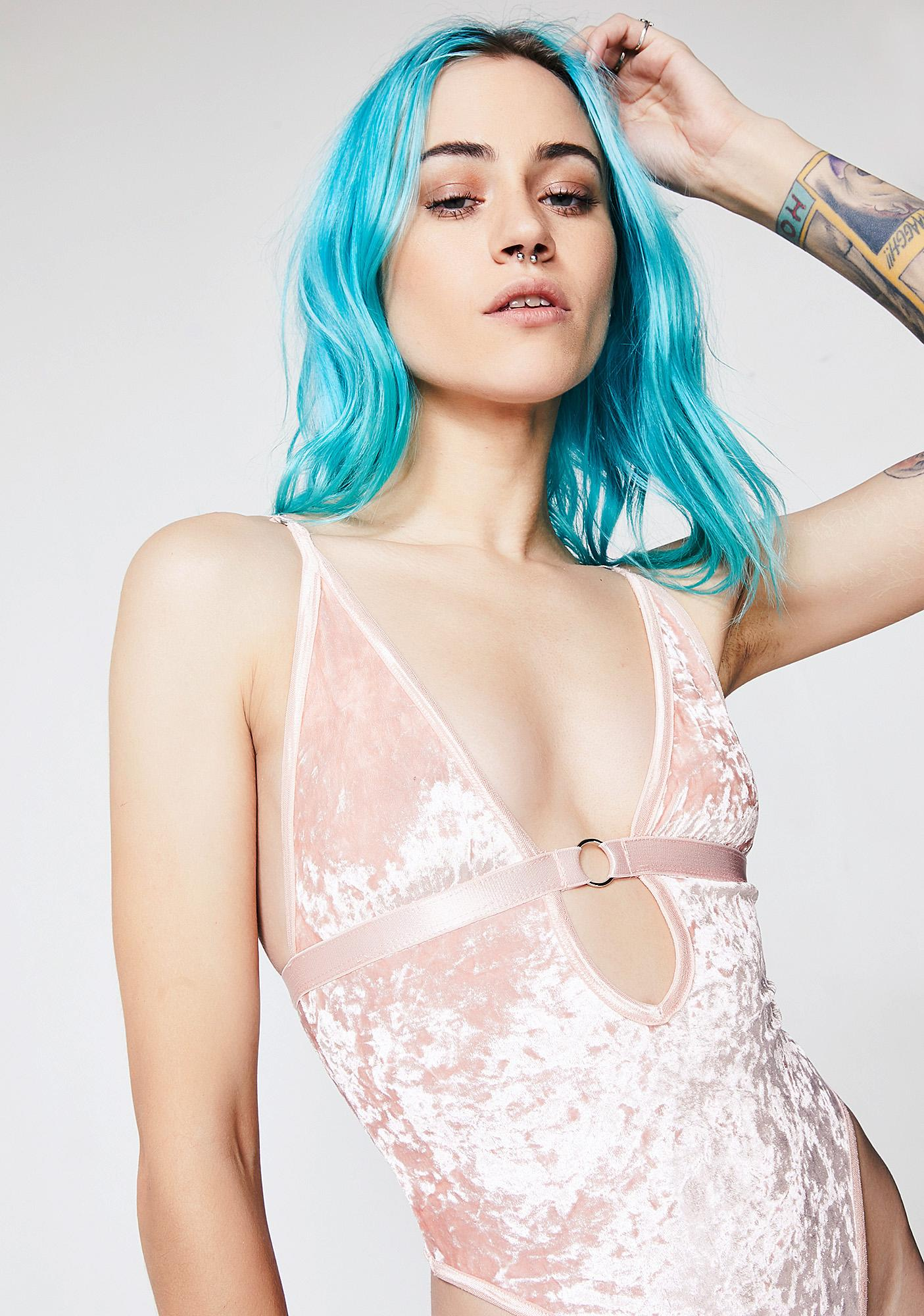 Current Mood Princess Velvet Crushin' Bodysuit