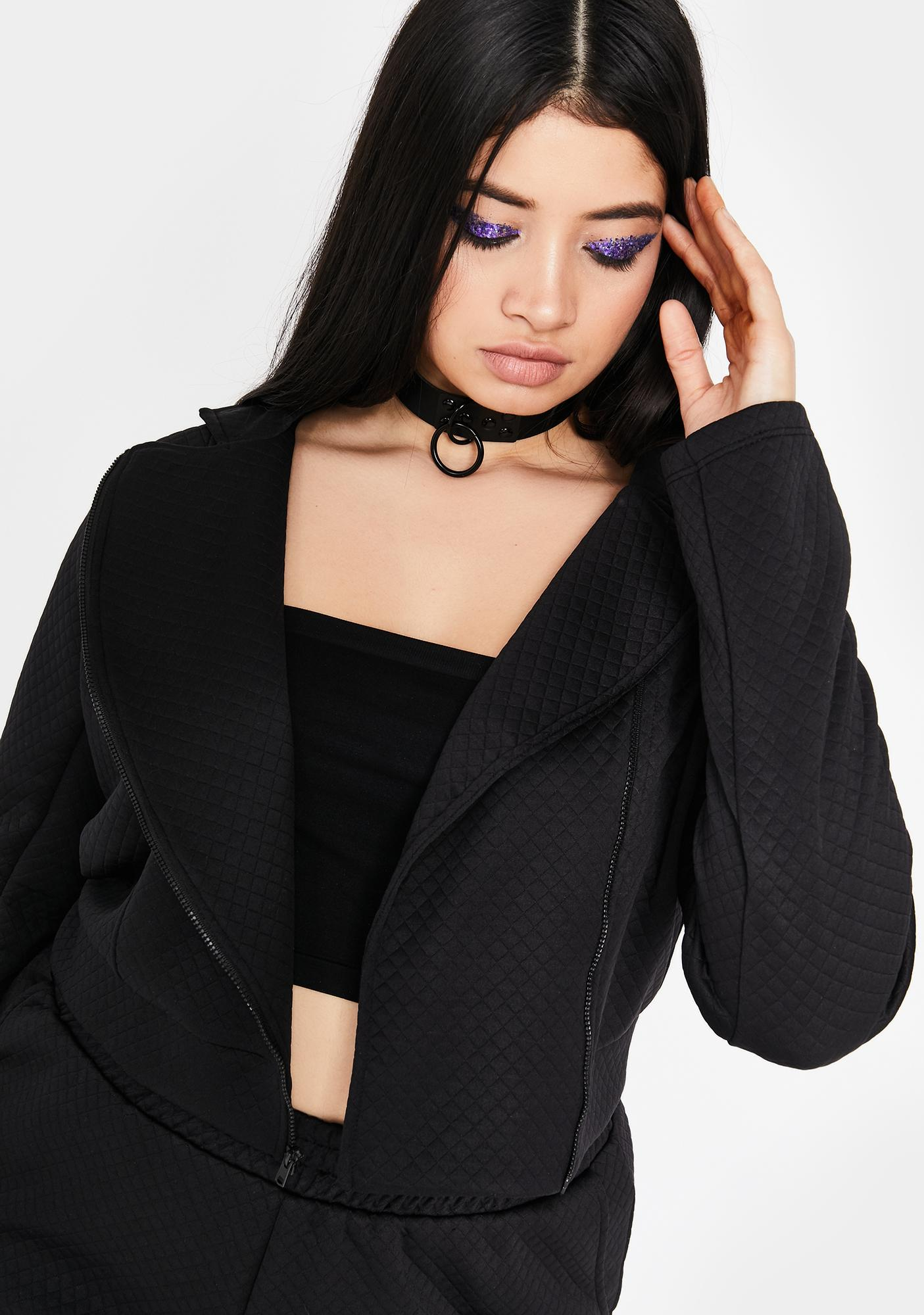 Forever Flirting With Disaster Crop Jacket