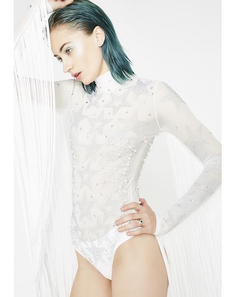 Frozen Starlet Fringe Bodysuit