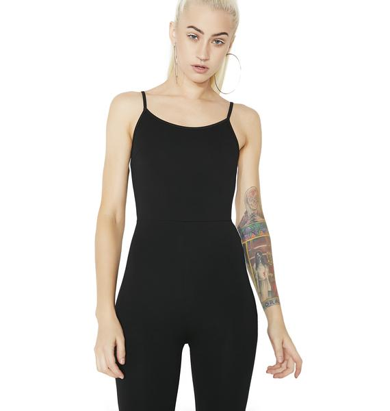 Player Hater Striped Jumpsuit