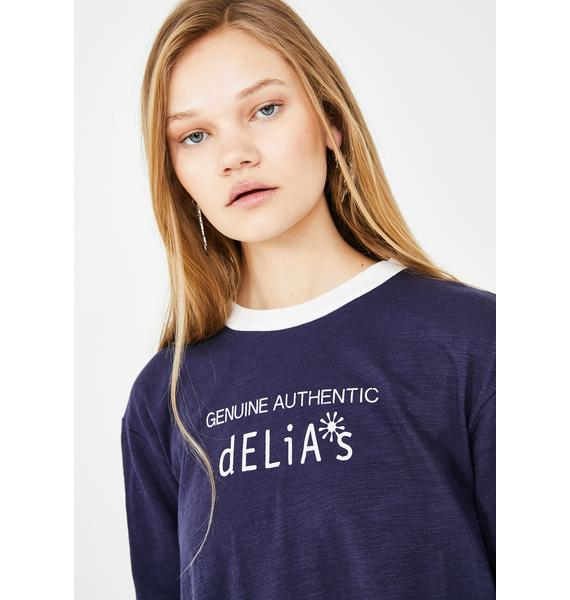 dELiA*s by Dolls Kill The Real Deal Graphic Tee