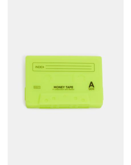 Lime Sick Jams Cassette Mix Tape Wallet