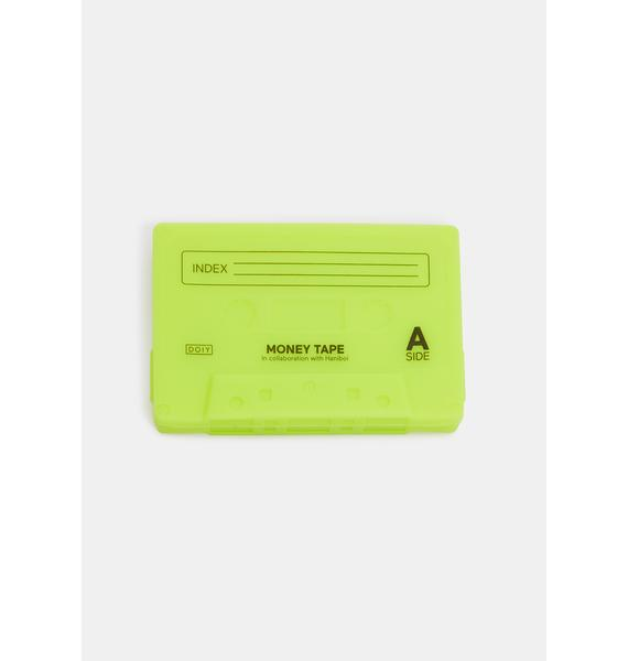 Lime Sick Jams Cassette Mix Tape Wallet