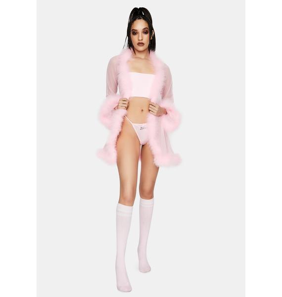 MaryJaneNite Pink Kawaii G String Panty