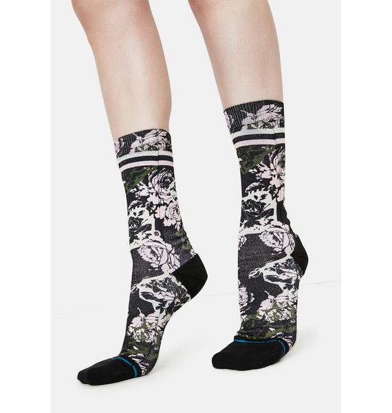 Stance La Vie En Rose Crew Socks