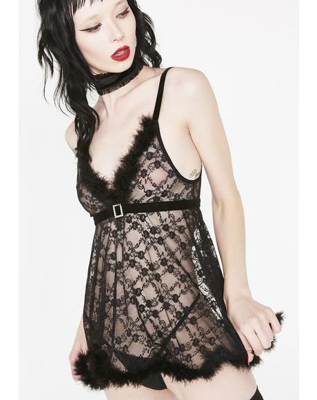 Sinful Night Babydoll Set