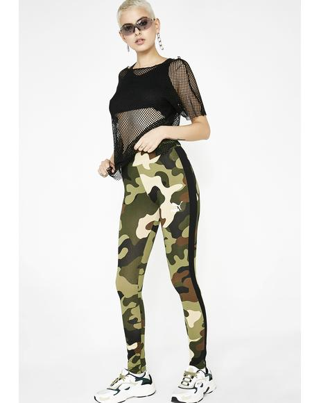 Camo Wild Pack T7 Stripe Leggings
