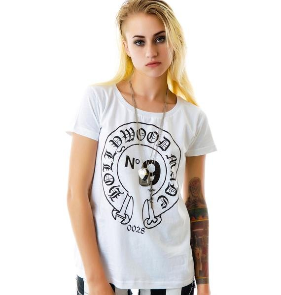 Hollywood Made Miss Hearts Loose Fit Tee