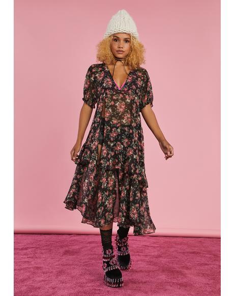 Thrift Trip Maxi Dress