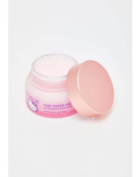 Hello Kitty Pink Water Dewy Face Cream