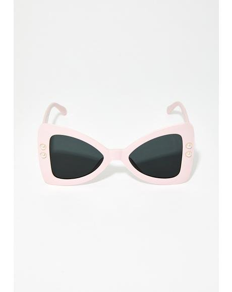 Funky Frenzy Triangle Sunglasses