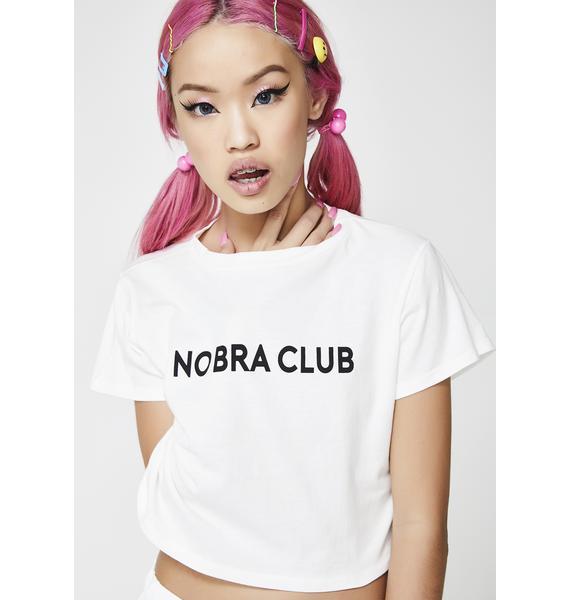 No Bra Club Tee