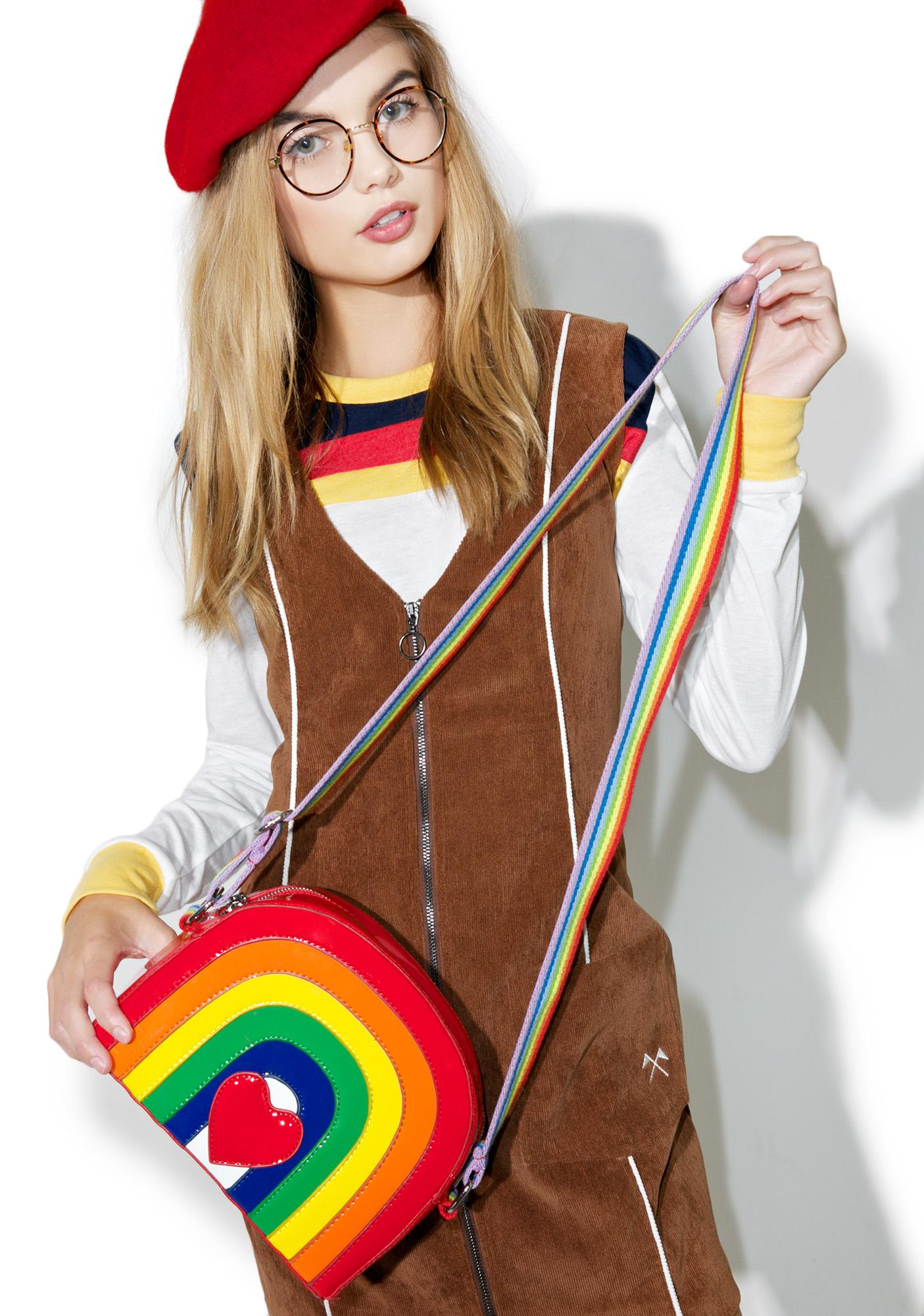 Current Mood Over The Rainbow Bag