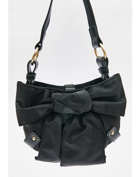 Bow To The Crowd Shoulder Bag