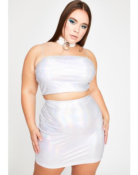 Total Space Rave Skirt Set