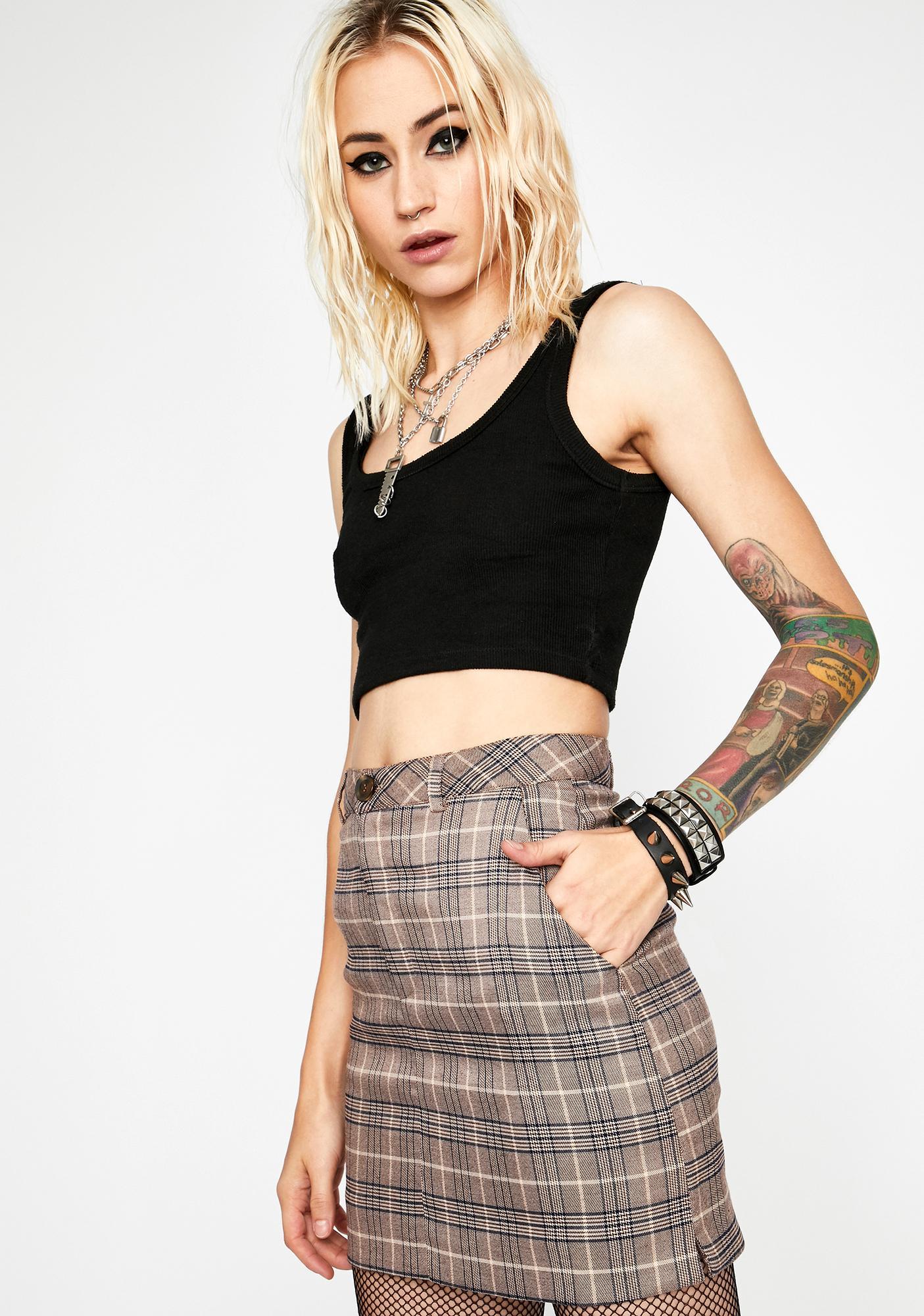 Business Affair Mini Skirt
