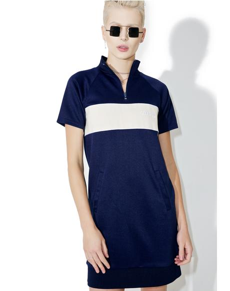 Navy Mercedes Dress