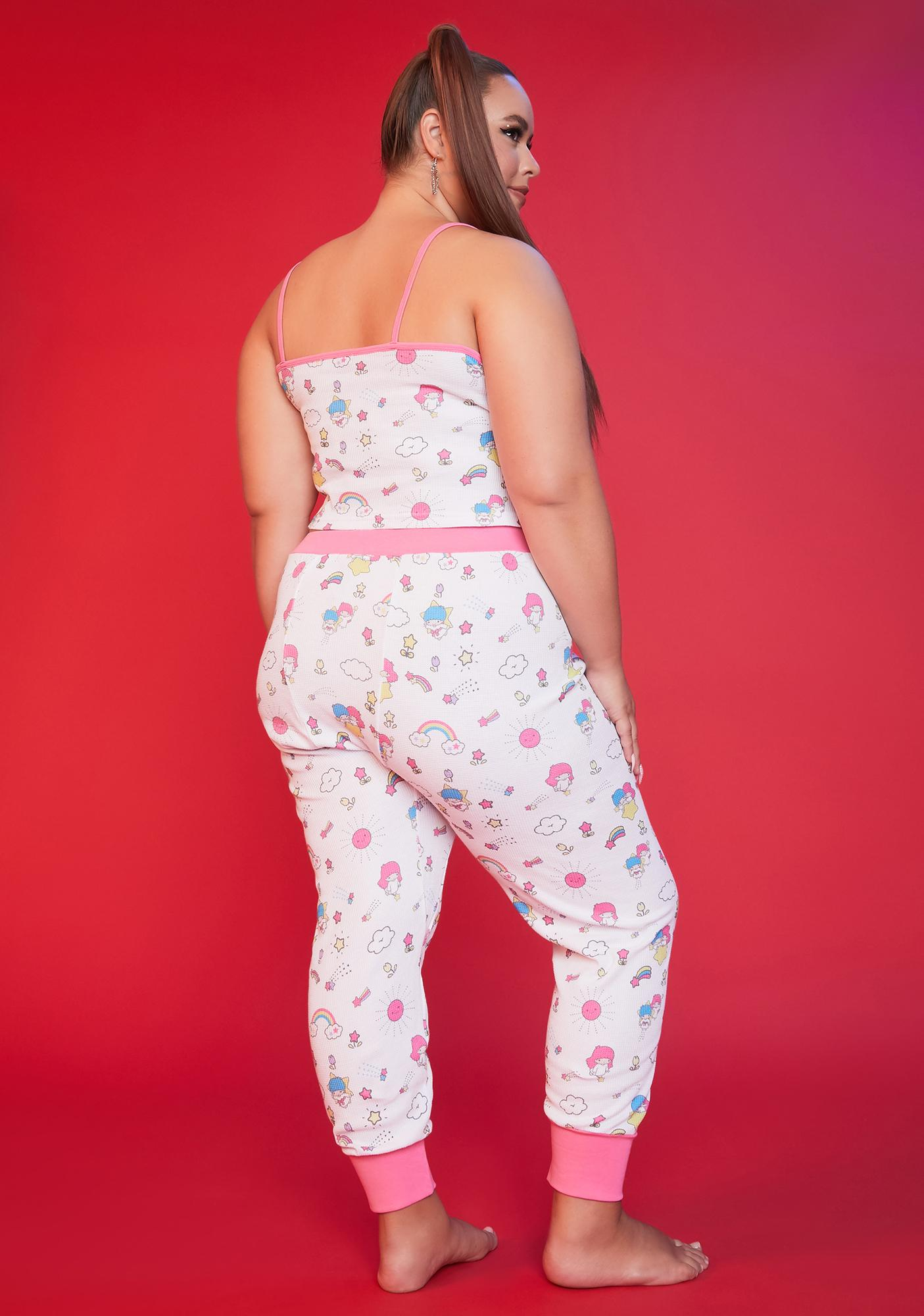 Dolls Kill x Hello Kitty Always In My Dreams Thermal Pajama Set