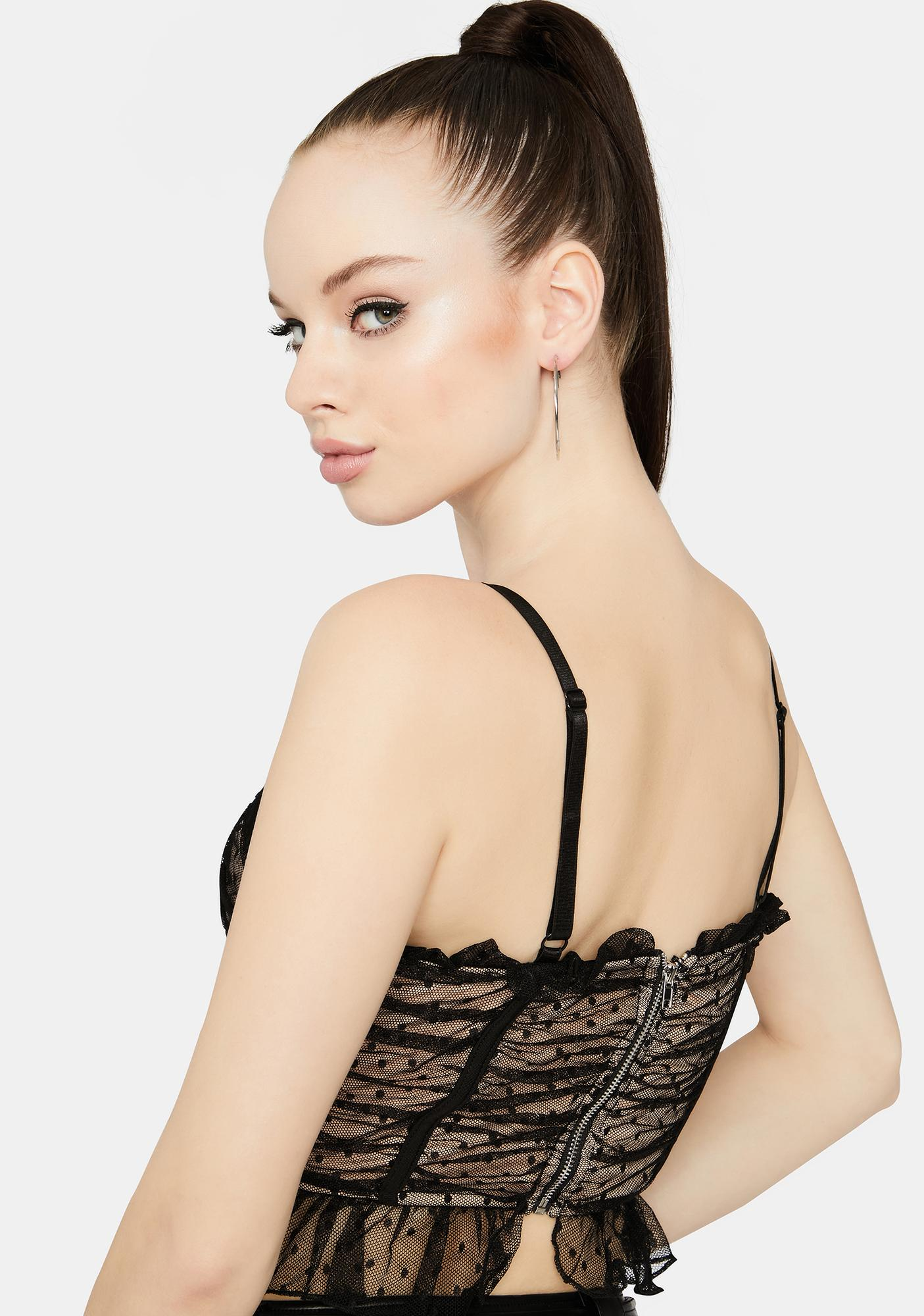 Live My Dream Ruched Cami Top