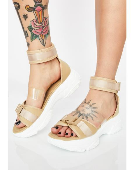 So Fresh N' Clean Platform Sandals