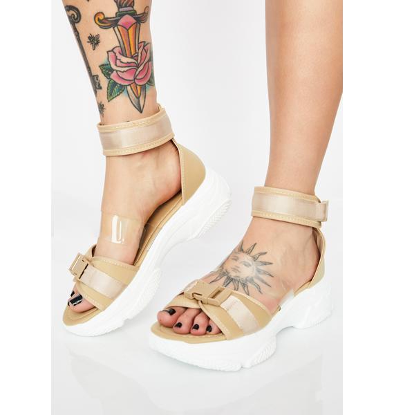 So Fresh N' Clean Platform Sandals
