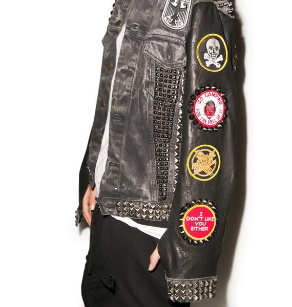 Hazmat Design Mercyful Fate Jacket