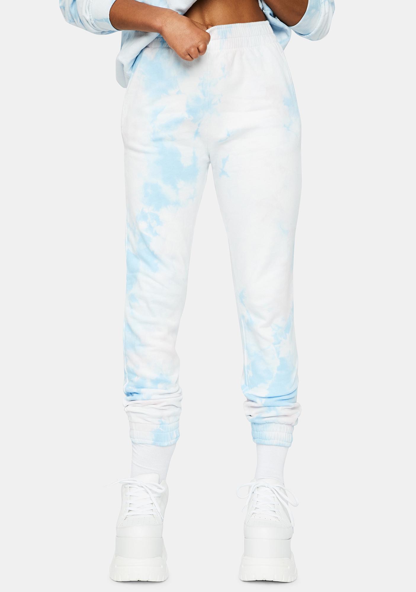Frankies Bikinis Aiden Tie Dye Sweatpants