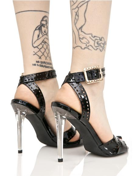 Say My Name Strappy Heels
