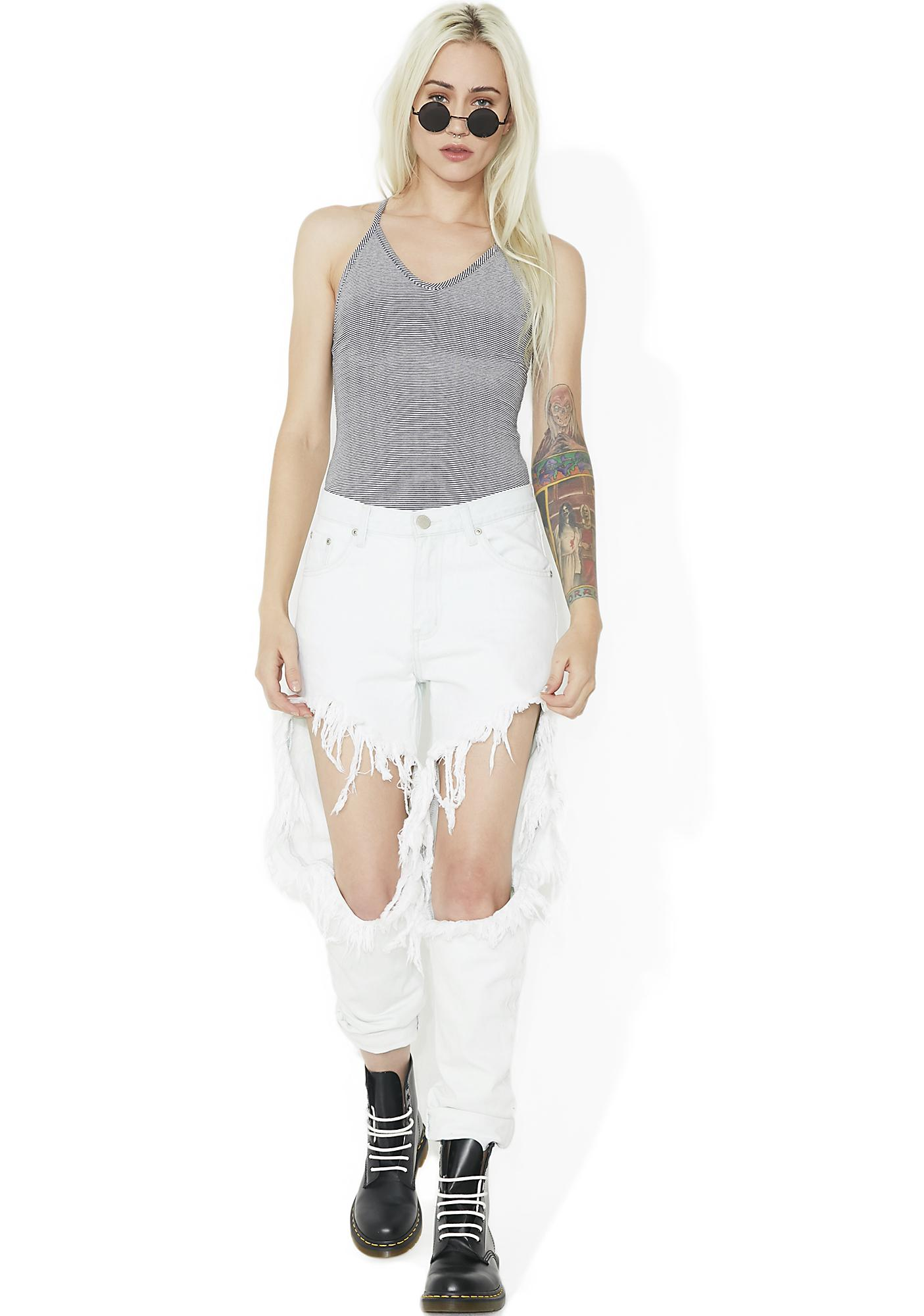 Off The Wall Knit Bodysuit
