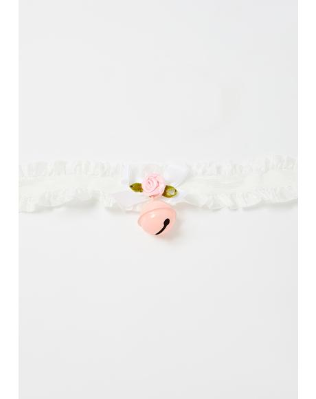 Ring The Bell Ruffle Choker