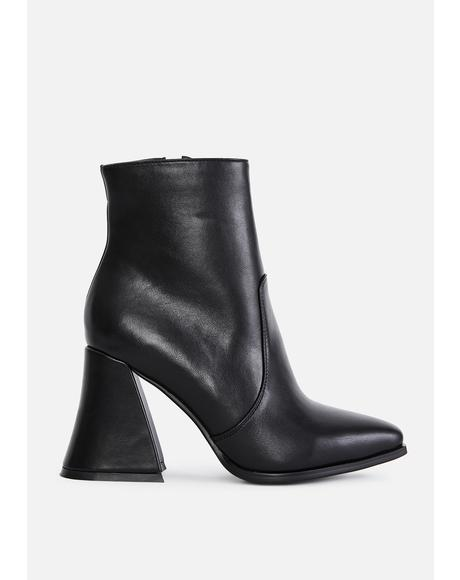 Call My Assistant Ankle Boots
