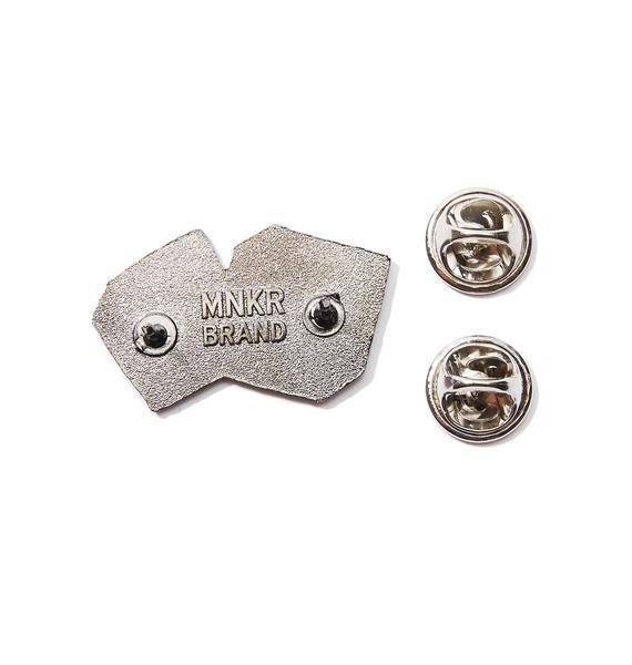 MNKR Dice Pin