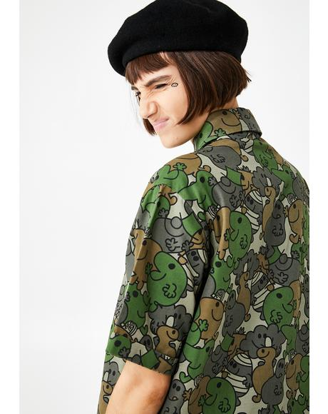 Mr Men Camo Shirt