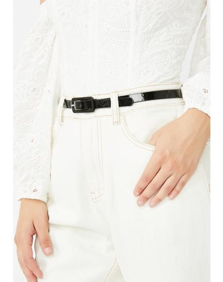 Shopaholic Needz Buckle Belt